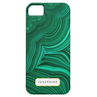 Malachite Slice Mineral Stone Pattern iPhone 5 Cover