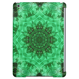Malachite Star Mandala iPad Air Cases