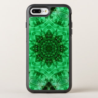 Malachite Star Mandala OtterBox Symmetry iPhone 7 Plus Case
