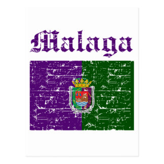 Malaga City designs Postcard
