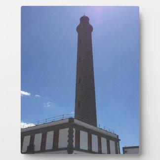 Malaga Lighthouse Plaque