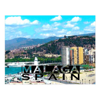 Malaga Postcard