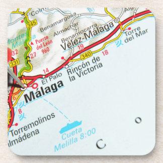Malaga, Spain Coaster