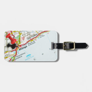 Malaga, Spain Luggage Tag