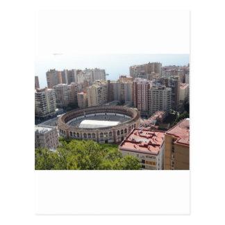 Malaga, Spain Postcard