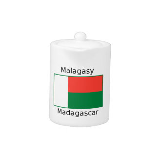 Malagasy Language And Madagascar Flag Design