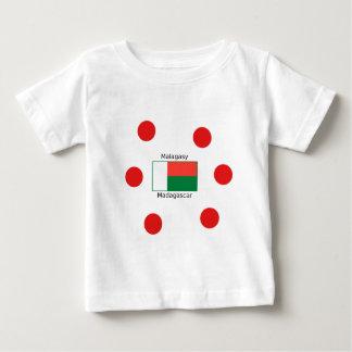 Malagasy Language And Madagascar Flag Design Baby T-Shirt