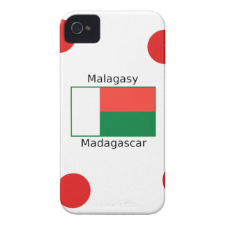 Malagasy Language And Madagascar Flag Design iPhone 4 Cover