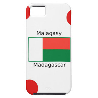 Malagasy Language And Madagascar Flag Design iPhone 5 Cover