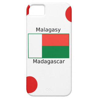 Malagasy Language And Madagascar Flag Design iPhone 5 Covers