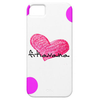 Malagasy Language of Love Design iPhone 5 Case