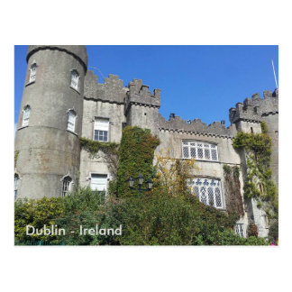 Malahide Castle, Dublin, Ireland Postcard
