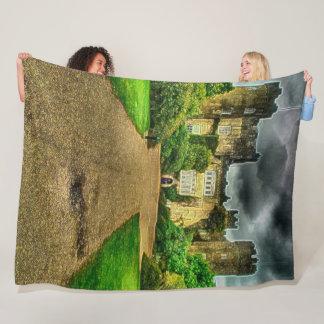 Malahide Castle, Ireland Acrylic Art Fleece Blanket