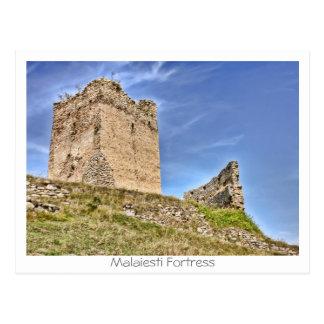 Malaiesti Fortress Postcard