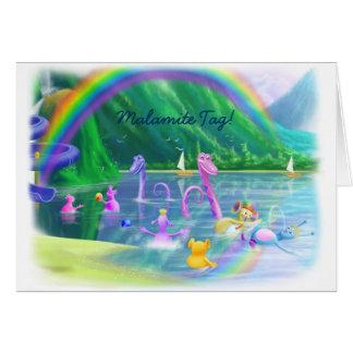 Malamite Tag! Greeting Card