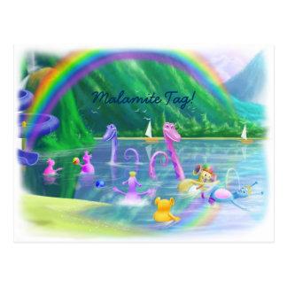 Malamite Tag! Postcard