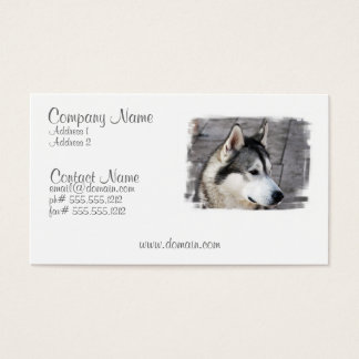 Malamute Business Card