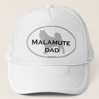 Malamute Dad Trucker Hat