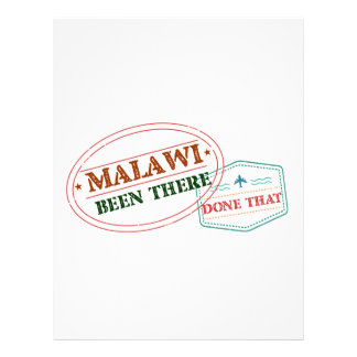 Malawi Been There Done That Letterhead
