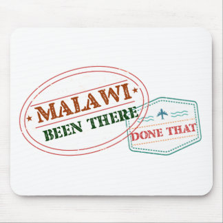 Malawi Been There Done That Mouse Pad