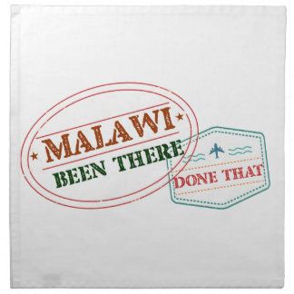 Malawi Been There Done That Napkin