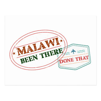 Malawi Been There Done That Postcard