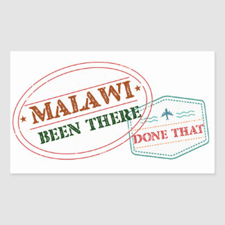 Malawi Been There Done That Sticker