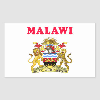 Malawi Coat Of Arms Designs Sticker