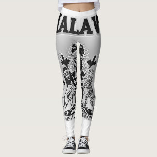 Malawi Coat of Arms Leggings
