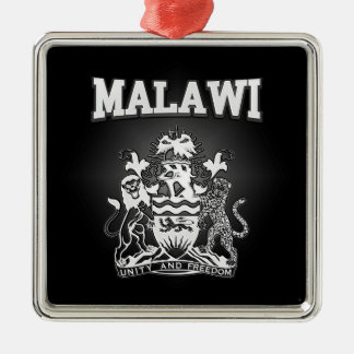 Malawi Coat of Arms Metal Ornament