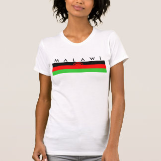 Malawi country long flag nation symbol republic T-Shirt