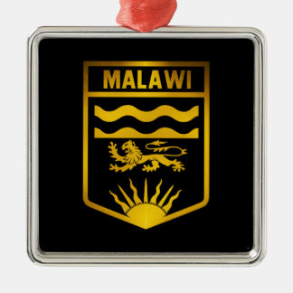 Malawi Emblem Metal Ornament