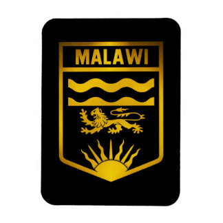 Malawi Emblem Rectangular Photo Magnet