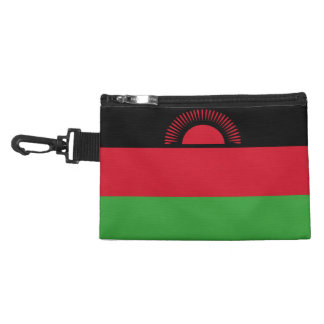 Malawi Flag Accessories Bag