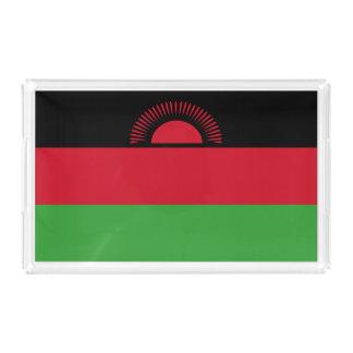 Malawi Flag Acrylic Tray