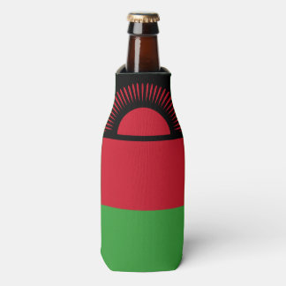 Malawi Flag Bottle Cooler