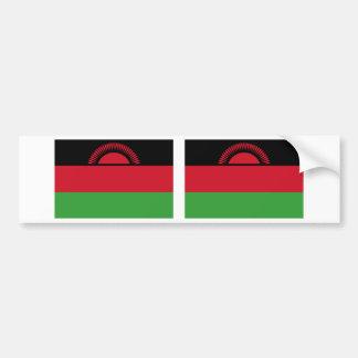 Malawi Flag Bumper Sticker