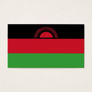 Malawi Flag Business Card
