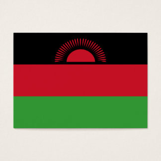 Malawi Flag Business Card