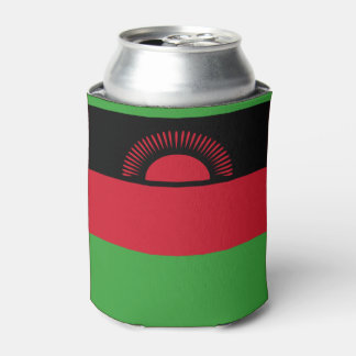 Malawi Flag Can Cooler