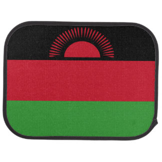 Malawi Flag Car Floor Carpet