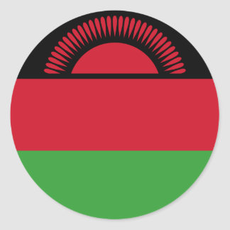 Malawi Flag Classic Round Sticker
