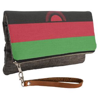 Malawi Flag Clutch