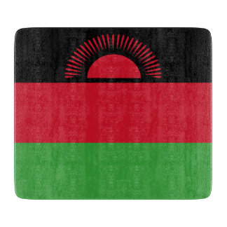 Malawi Flag Cutting Board