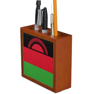 Malawi Flag Desk Organizer