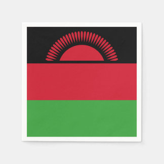 Malawi Flag Disposable Napkin
