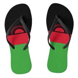 Malawi Flag Flip Flops