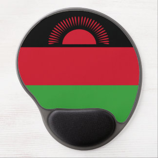 Malawi Flag Gel Mouse Pad