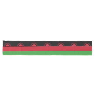 Malawi Flag Long Table Runner
