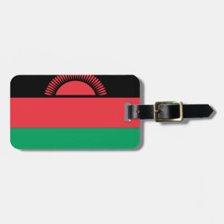 Malawi Flag Luggage Tag